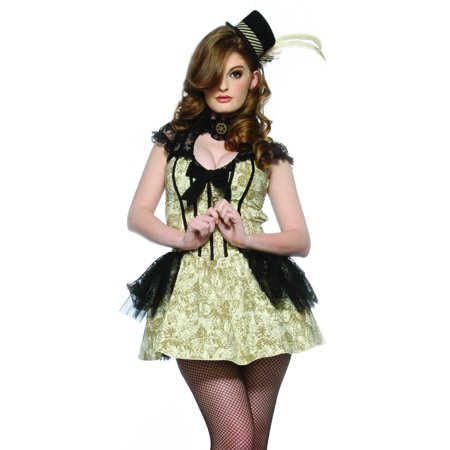 Lip Service Sexy Steampunk Dress Adult Victorian Halloween Costume