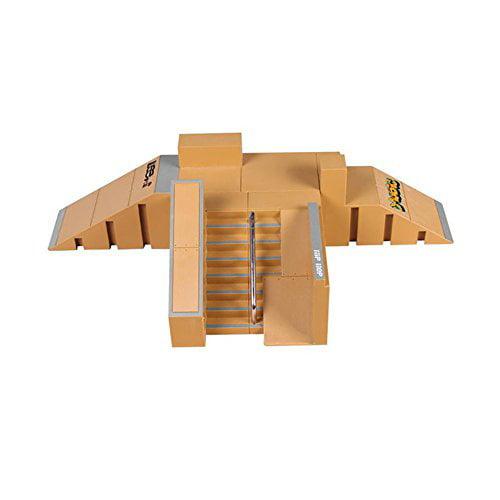 Skate Park Kit, Hometall 5PCS Skate Park Kit Ramp Parts f...