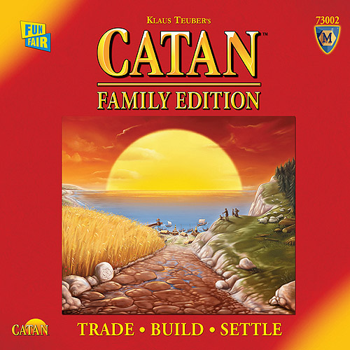 Catan Gallery Family Edition Game