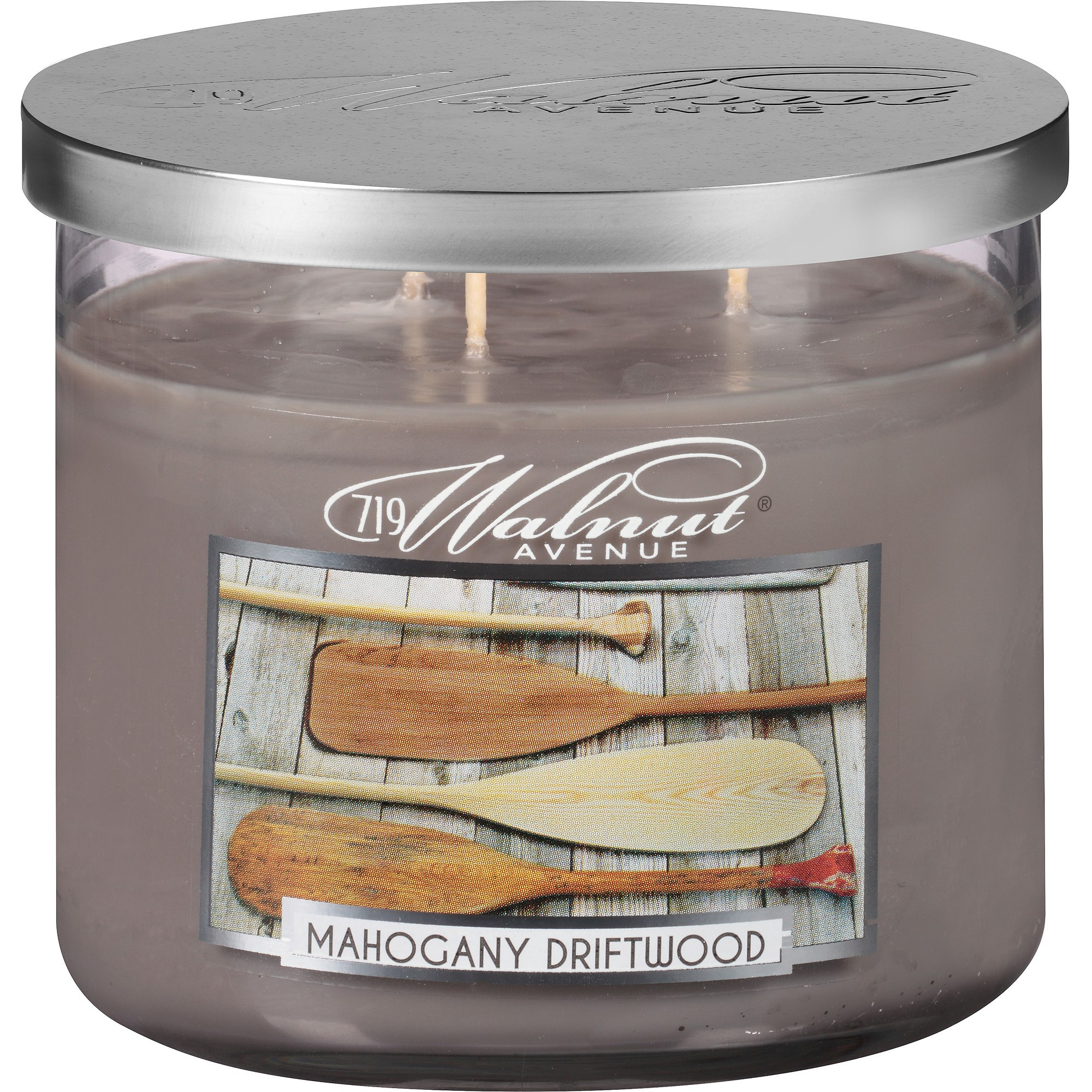719 Walnut Avenue Scented Candle, Mahogany Driftwood, 14 Oz by 719 Walnut Avenue
