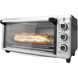 5 Convection Steamer - BLACK+DECKER TO3240XSBD 8-Slice Extra Wide Convection Countertop Toaster Oven