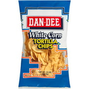 Dan Dee White Corn Tortilla Chips, 12 Oz.