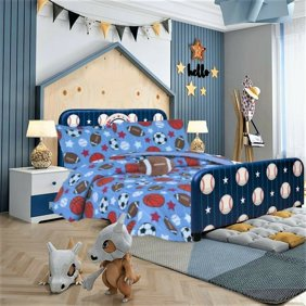 Five Nights At Freddy S Kids Bed In A Bag Bedding Set Pizza Security 5pc Full Walmart Com Walmart Com