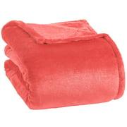 Opulence Berkshire Velvetloft Blanket Coral / Full/Queen