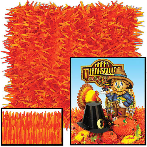 Pkgd Fringed Tissue Mats Golden-yellow, Orange, Red (2 Ct)- Pack Of 12
