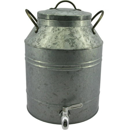 Completely new Better Homes & Gardens 2.5 Gal Galvanized Dispenser - Walmart.com EV69