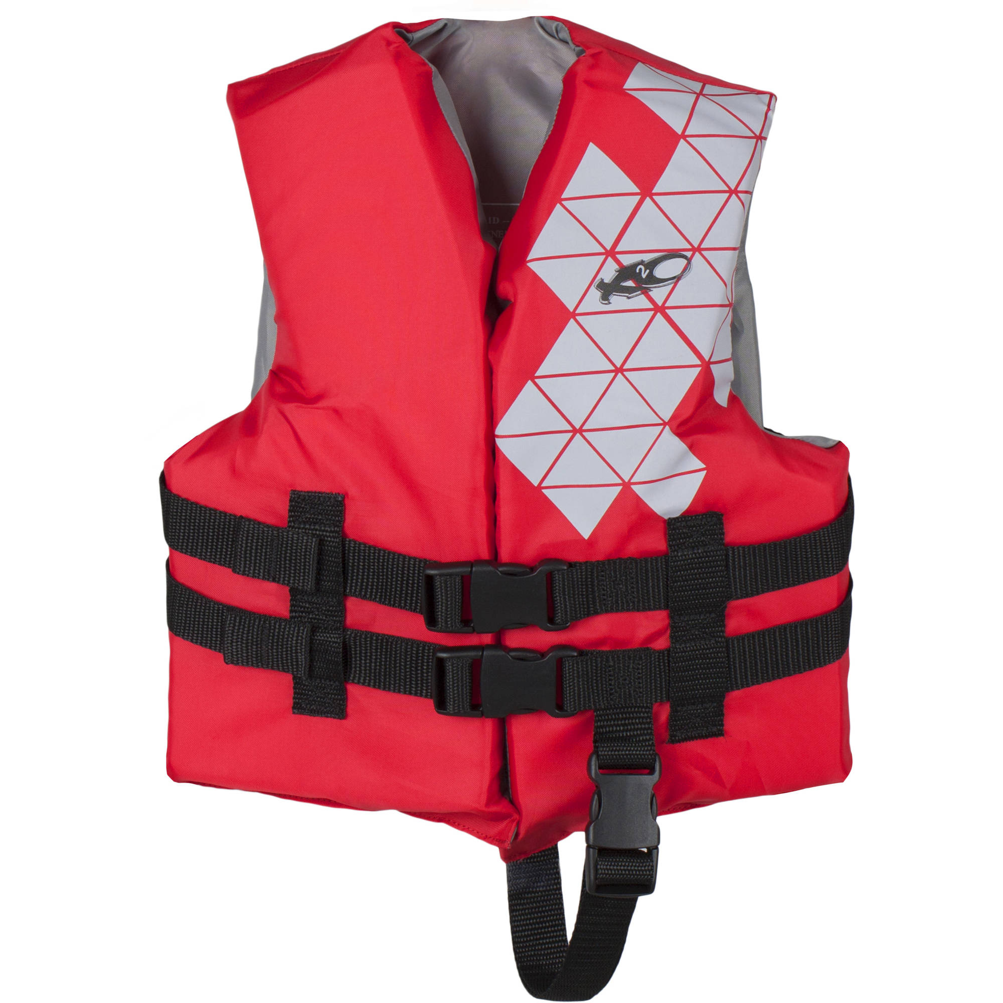 Child Open-Sided Vest, Red by