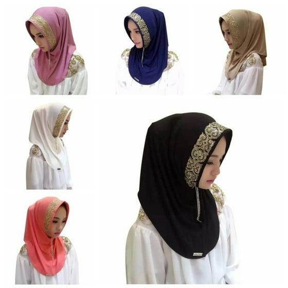 DAYUE - Muslim women in Islamic style headscarf new hijab
