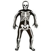 Men Skeleton Bodysuit Medium Halloween Dress Up / Role Play Costume