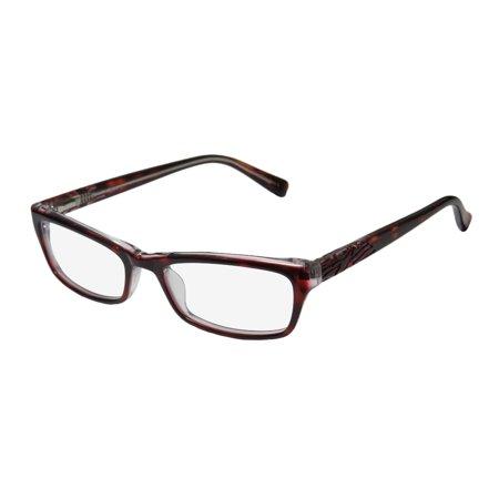 Tortoise Optical Frame (New Thalia Alina Womens/Ladies Designer Full-Rim Tortoise / Clear Classic Design Fabulous Optical Frame Demo Lenses 50-16-135 Spring Hinges Eyeglasses/Eyewear)