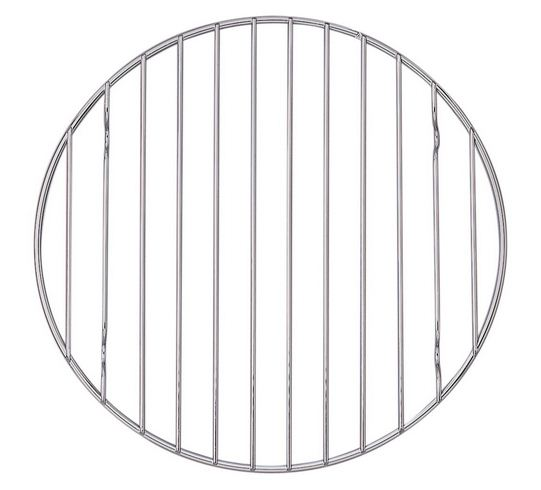 Mrs. Anderson's Baking Professional Round Baking and Cooling Rack, 9.25-Inches