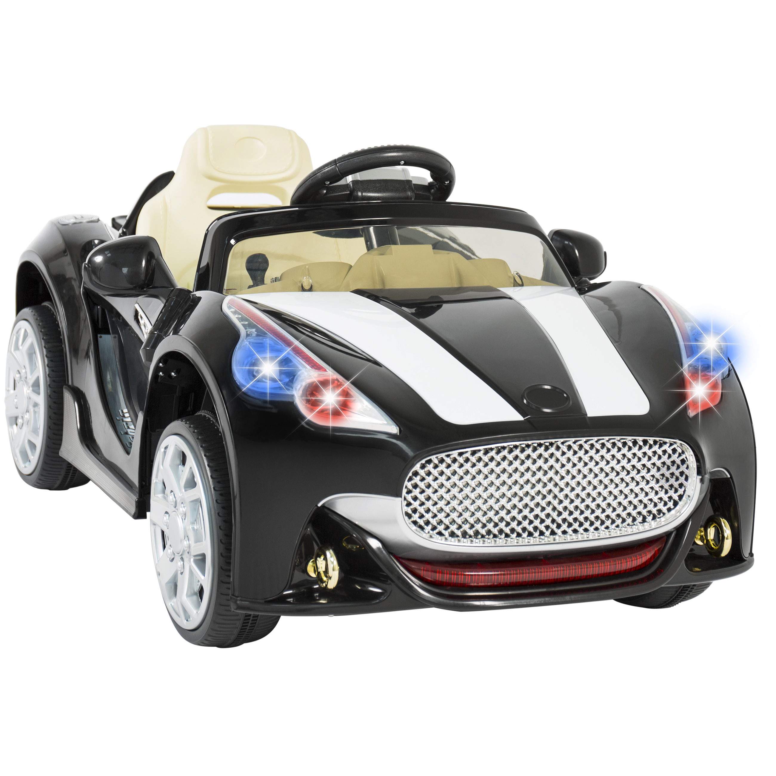 12v ride on car kids rc remote control electric battery power w radio mp3 bk