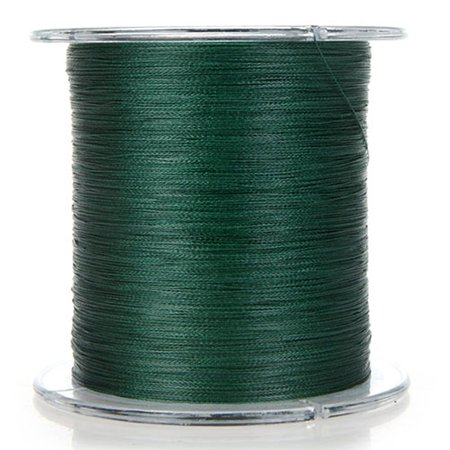 300m 30lb 0 2mm Fishing Line Strong Braided 4 Strands Dark Green Walmart Com Walmart Com