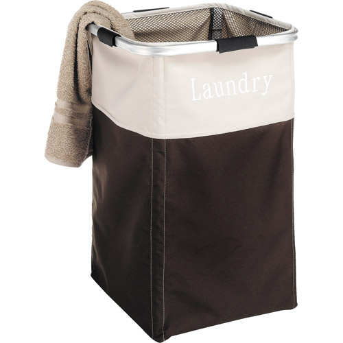 Whitmor Easycare Laundry Hamper, Espresso by Whitmor