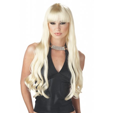Serpentine Costume Wig - Blonde - Party City Blonde Wig