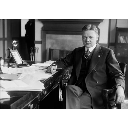 Future President Herbert Hoover As Head Of The Food Administration During World War 1 1918 History (Futura Hoover)