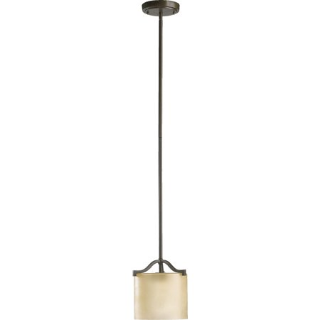 Pendants 1 Light With Oiled Bronze Finish Medium Base Bulb Type 7 inch 100 Watts