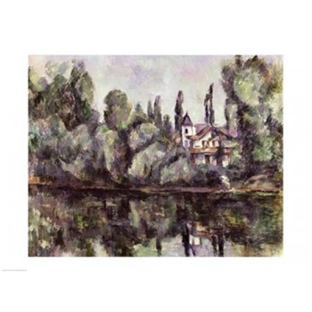 The Banks of The Marne 1888 Poster Print by Paul Cezanne - 24 x 18 in. - image 1 de 1