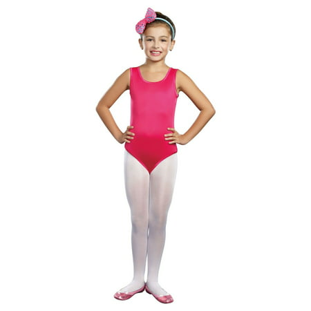 Hot Pink Leotard Dancewear Girls Costume Top