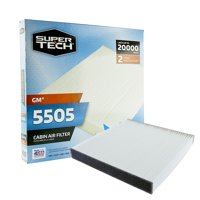 SuperTech Cabin Air Filter 5505, Replacement Air/Dust Filter for GM
