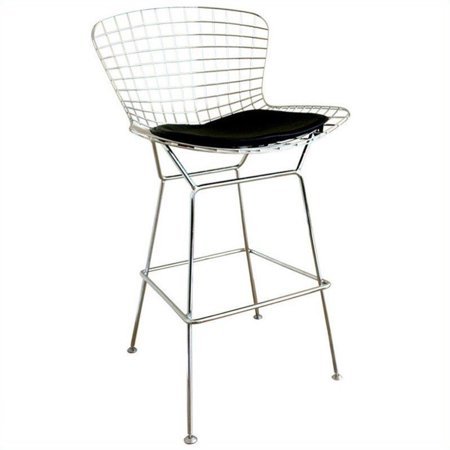 Astounding Bertoia Bar Stool In Silver Set Of 2 Ocoug Best Dining Table And Chair Ideas Images Ocougorg