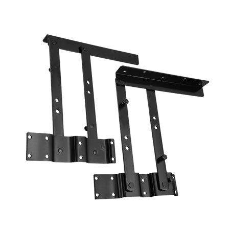 Height Hinged (Uxcell 1pair 14cm Lifting Height Lift Up Table Desk Furniture Mechanism Spring Hinge )