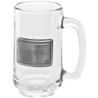 Visol Products Argyle Beer Glass 12 oz. Stainless Steel