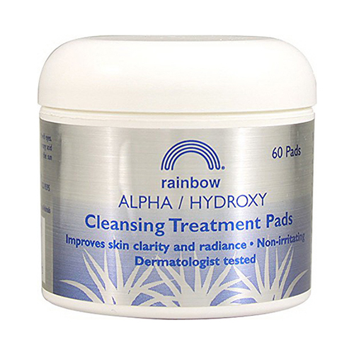 Rainbow Research Alpha Hydroxyl Cleansing Pads - 60 Ea