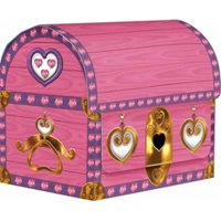 DDI 693095 Princess Treasure Chest Favor Boxes Case of 12