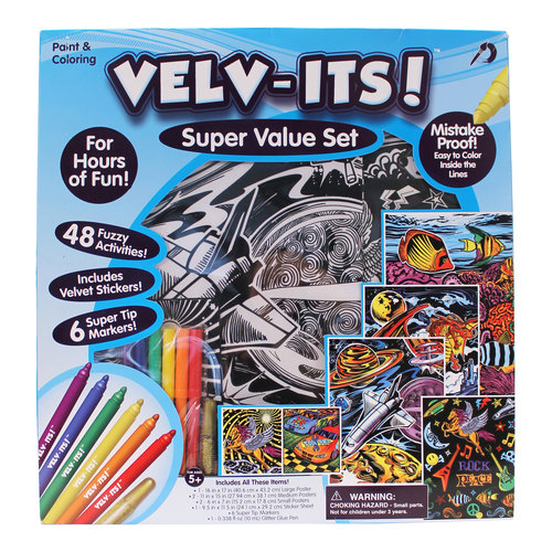 Kids Craft Velv-Its Super Value Pack