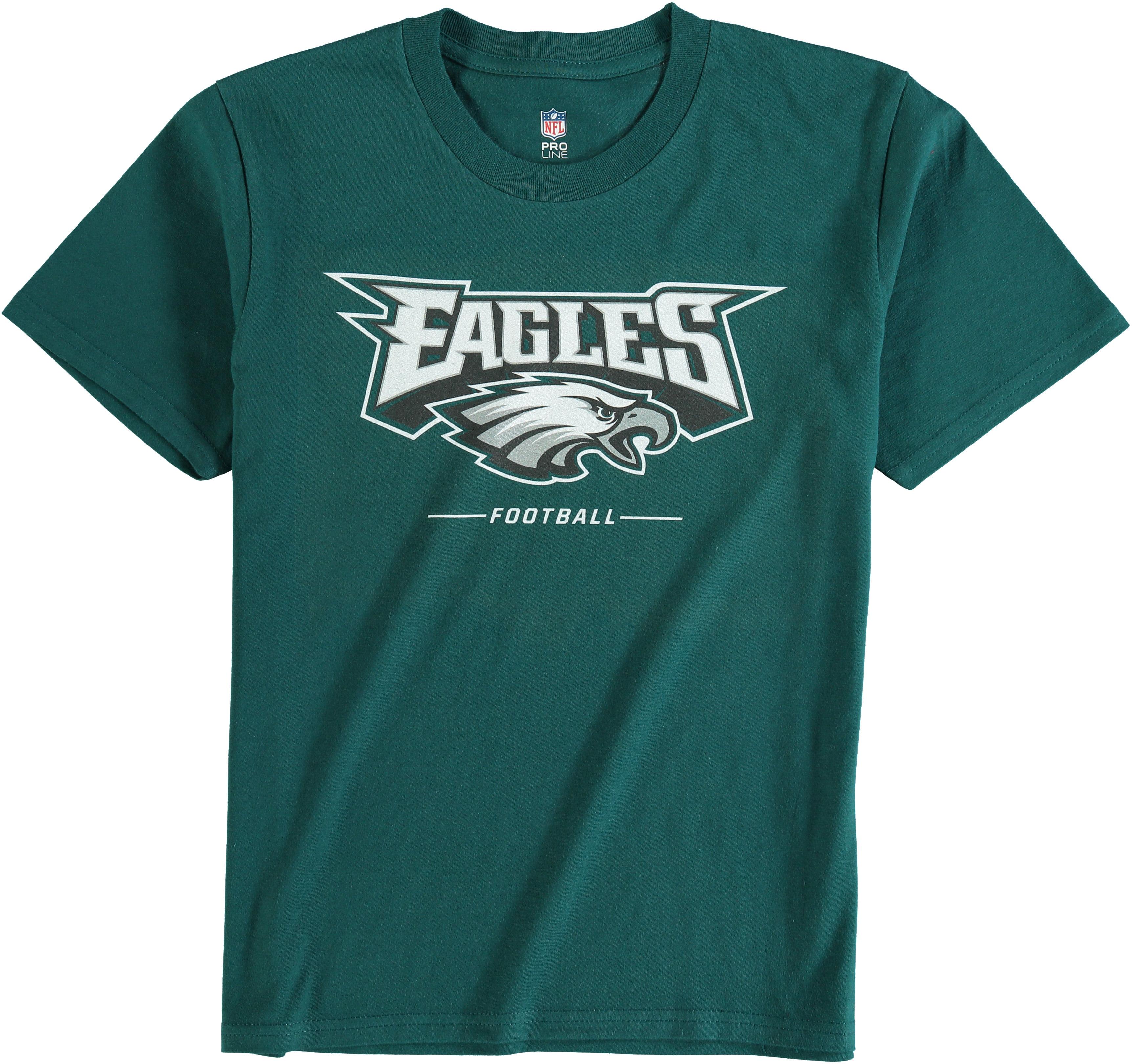 Philadelphia Eagles NFL Pro Line Youth Team Lockup T-Shirt - Green