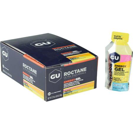 GU Roctane Energy Gel: Tutti Frutti, Box of 24