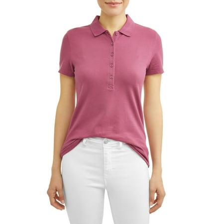 New Team Essentials Short (Women's Essential Short Sleeve Polo Shirt)