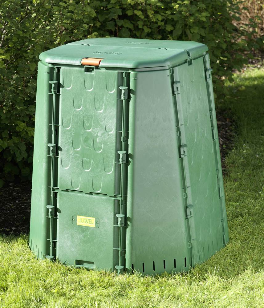Large Compost Bin in Green by Exaco