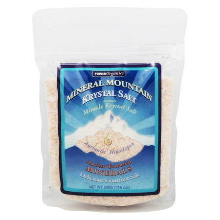 Klamath - Mineral Mountain Krystal Salt Fine Ground Bag - 1.1 lbs. (Formerly Miracle Krystal Salt)