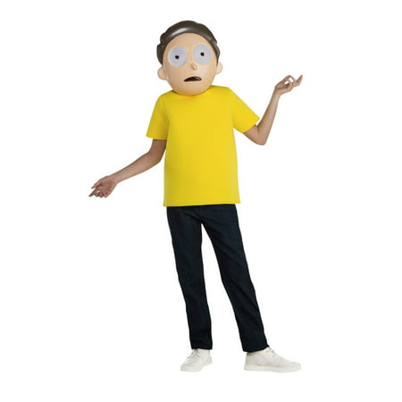 Rick & Morty - Morty Teen Costume Teen](Rick Ross Halloween)
