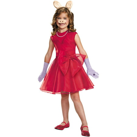 Miss Piggy Girls Child Halloween Costume