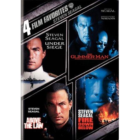 4 Film Favorites: Steven Seagal (Steven Jackson Gear)