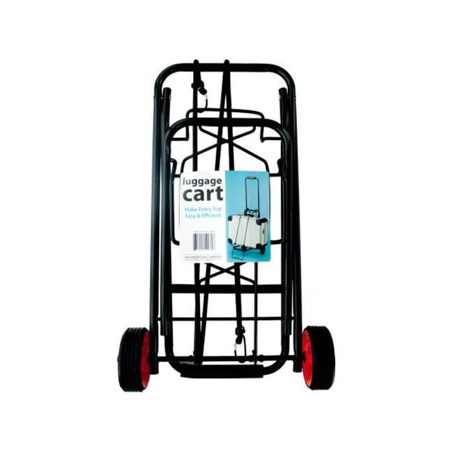 Heavy-Duty Folding Luggage Cart - Walmart.com
