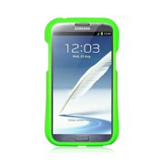 For Samsung Galaxy Note II Case, by Insten Hard Plastic/Soft TPU Rubber Case Cover For Samsung Galaxy Note II