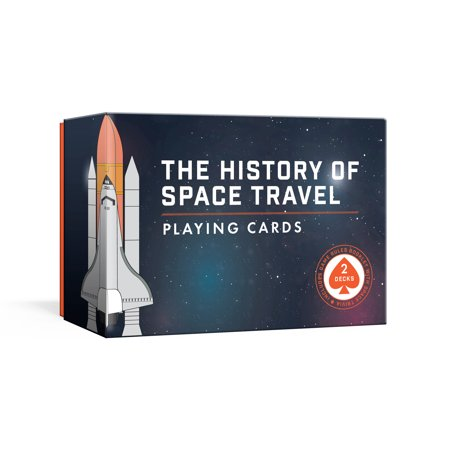 The History of Space Travel Playing Cards : Two Decks of Cards and Game Rules Booklet with Space Trivia](Halloween 2 Trivia)