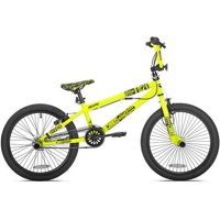 """Kent 20"""" Thruster Boys', Chaos BMX Bike, Green, For Height Sizes 4'2"""" and Up"""