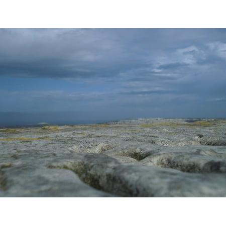 LAMINATED POSTER Stones Stone Landscape Malta Rock Landscape Ground Poster Print 24 x 36