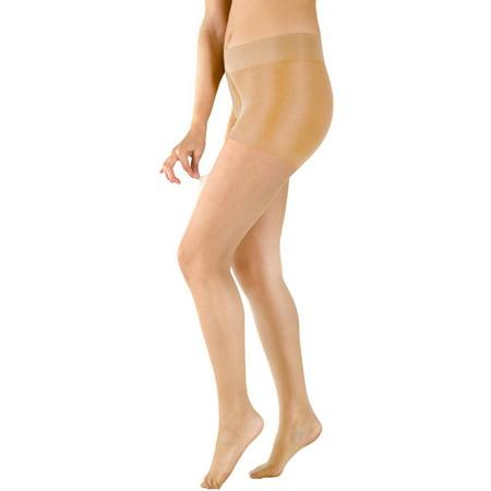 Peds Ladies Fusion Run Resistant Shaping Control Top Pantyhose  1 Pair