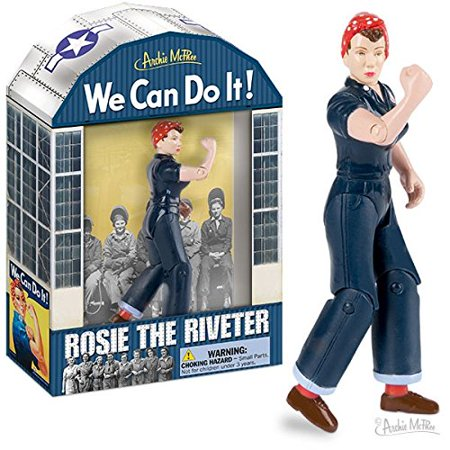 Accoutrements Rosie The Riveter Action Figure - image 1 of 1