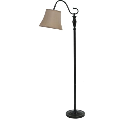 Better Homes And Gardens Black Downbridge Floor Lamp With Cfl Bulb