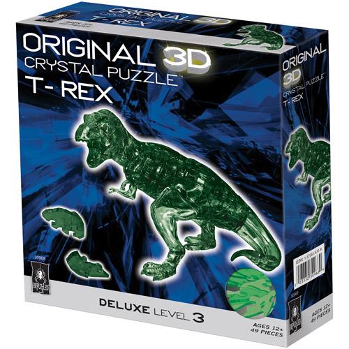 3D Crystal Puzzle, T-Rex: 49 Pieces