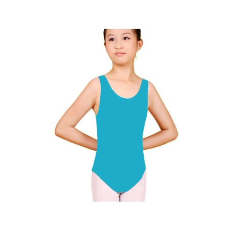 Dress Shirt Bodysuit (Kids Child Girl Dance Leotard Stretch Bodysuit Ballet Training Dress Costume)