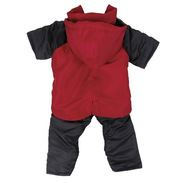 Casual Canine Snowsuit L Red