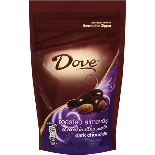 Dove, Dark Chocolate With Almonds, 4.5 Oz